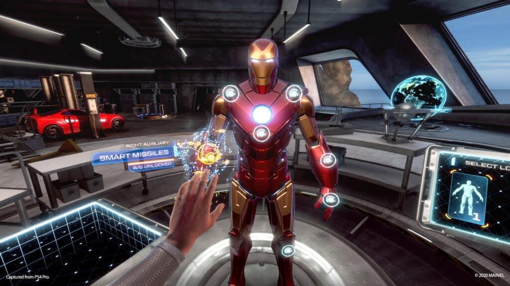 PS5 Iron Man PSVR Bundle