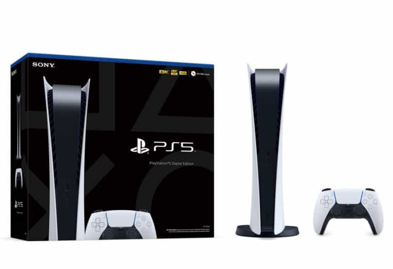 PS5 Box preoder