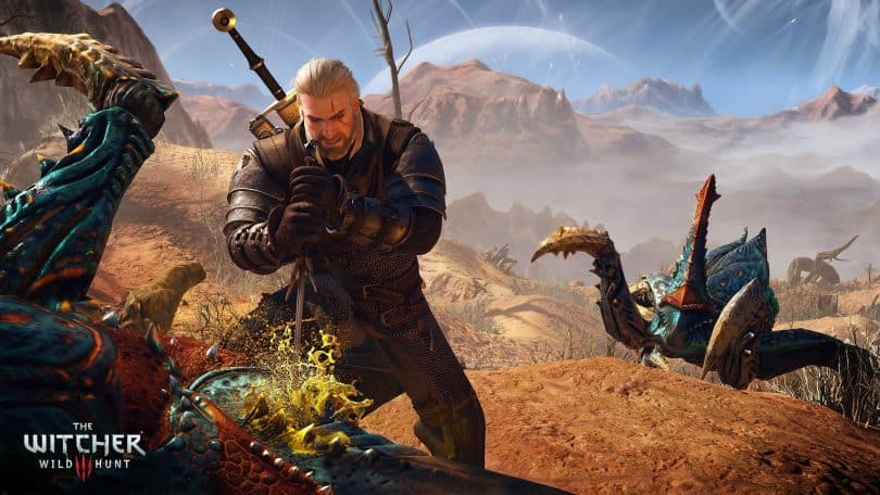 PS5 The Witcher Wildhunt