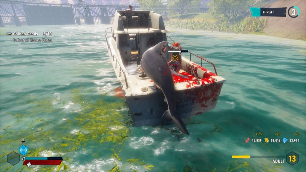 Maneater PS5 Tugboat