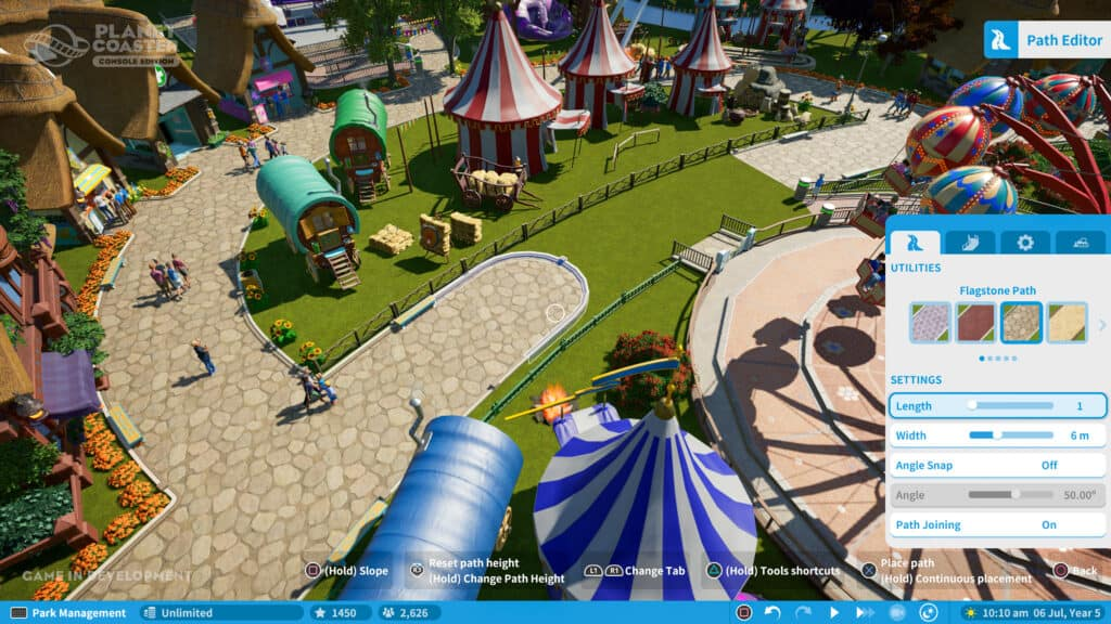 planet coaster ps5 gameplay